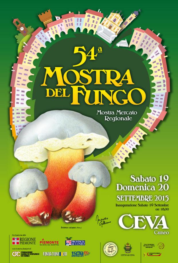 54ª Mostra del Fungo 2015 – Ceva (CN)
