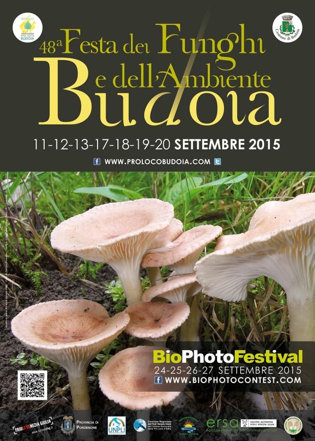 48ª Festa dei Funghi e dell'Ambiente 2015 – Budoia (PN)